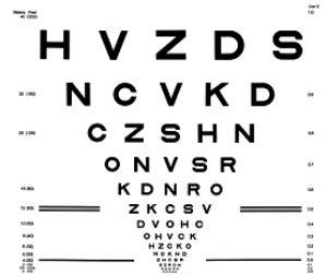 printable low vision eye chart the low vision examination visionaware