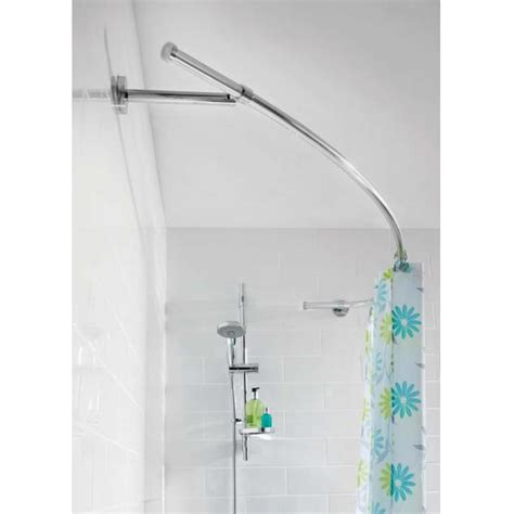 croydex curved shower curtain rail croydex shower curtains uk scandlecandle com