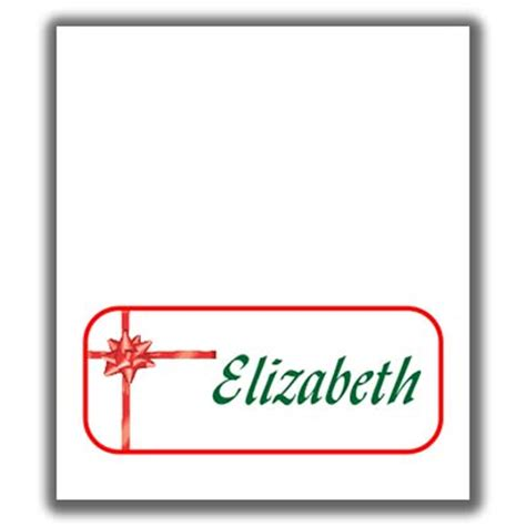 Free Christmasplace Card Template by Place Card Templates