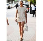 Did You Forget Your Trousers Jessica Hart Puts Her Long And Lean Legs