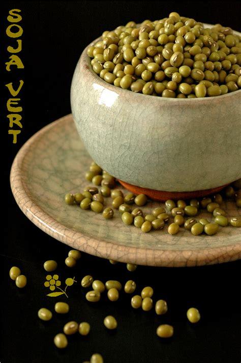 soja vert quinoa noir graines sauce verte veloutee