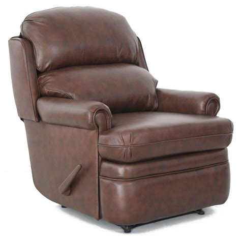 Leather Wall Hugger Recliner Chairs barcalounger capital club wall hugger leather recliner