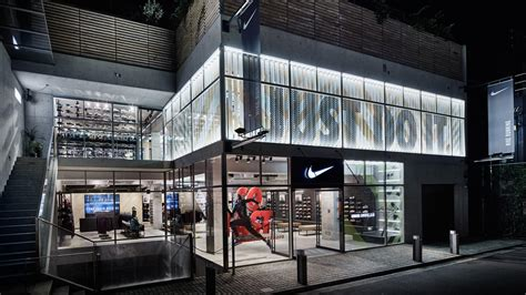 Nike By A A Store nike brings running concept store to tokyo nike news