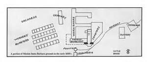 mission santa barbara floor plan california missions