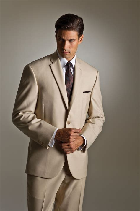 Lord West Horizon Tan Suit   Available April 1, 2014