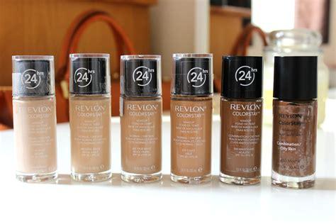 Revlon Colorstay Foundation Skin makeup review by ella revlon color stay foundation