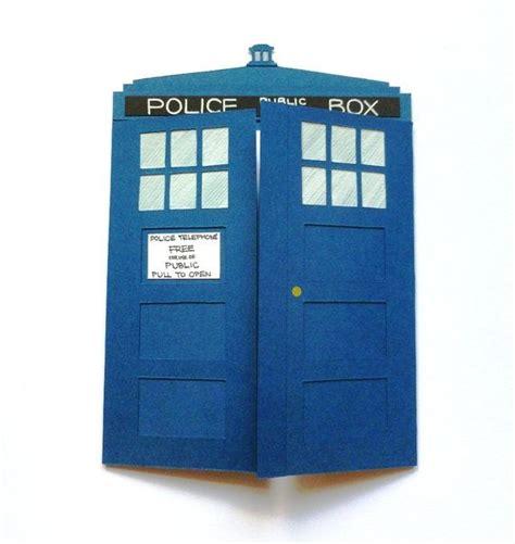 Tardis Card Template by Doctor Who Tardis Card Tardis Craft And Cards