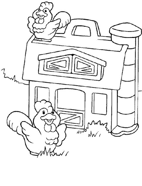 fisher price coloring pages coloring pages