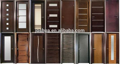 "64"" X 80"" Black Walnut Modern Double Interior Wood Door Frosted Glass Buy Interior Wood Door"