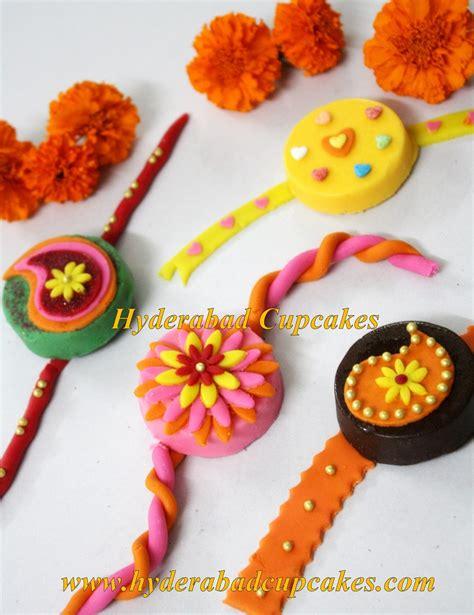Raksha Bandhan Decoration by Hyderabad Cupcakes Custom Designer Fondant Cakes Cupcakes Cake Pops Wedding Cakes More