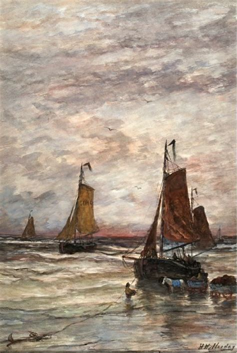 Cache Vis A Vis 1665 by 225 Best Images About H W Mesdag On The Surf