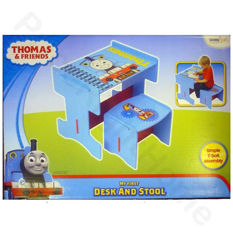 The Tank Engine Desk And Chair - the tank engine wooden desk stool furniture
