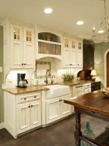 Country Kitchen With White Cabinets Country Kitchen Makeover Bonnie Pressley Hgtv