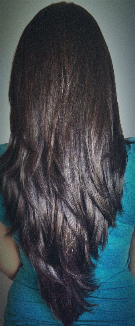 layered vs shingled hair long layered haircut for thick hair cut in long distinct