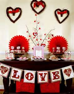 Valentine S Day Decorations For Home by Valentines Day Decorations For Your Home Modern Magazin