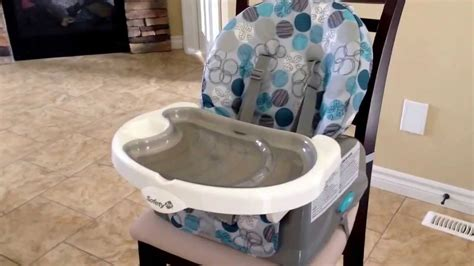 Safety Recline And Grow by Safety 1st Recline And Grow Feeding Seat Review