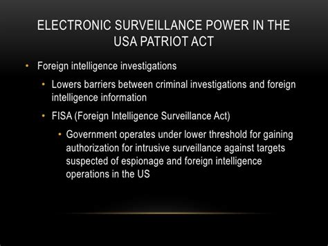 section 216 patriot act after 9 11
