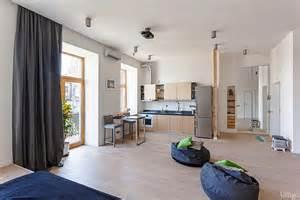 open studio apartment in kiev by fild homedsgn