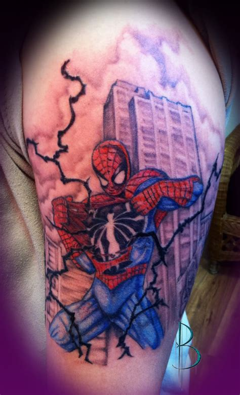 tattoo logo spiderman 20 spiderman logo tattoo designs and pictures