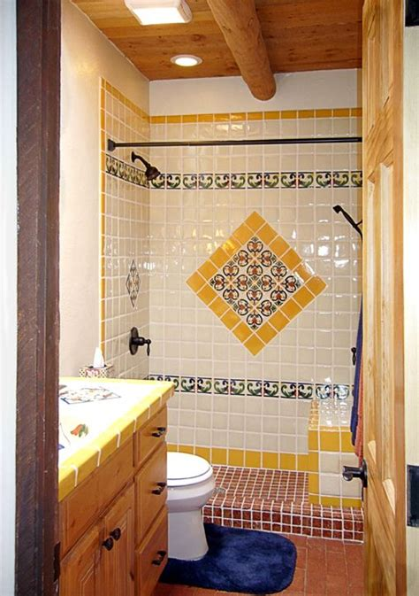 Mexican Tile Bathroom Ideas 17 Best Images About Small Bathroom Ideas On Pinterest Soaking Tubs Traditional Bathroom And