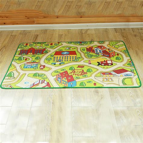 Play Area Rug Floor Area Rug Baby Child Play Mat Anti Slip Bedroom Living Room Carpet Ebay