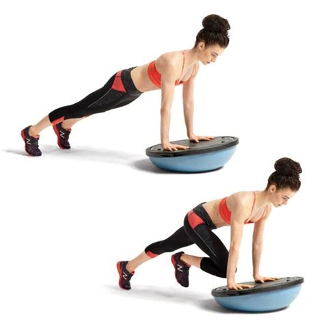 7 Great Bosu Exercises by 17 Best Ideas About Mountain Climber Exercise On