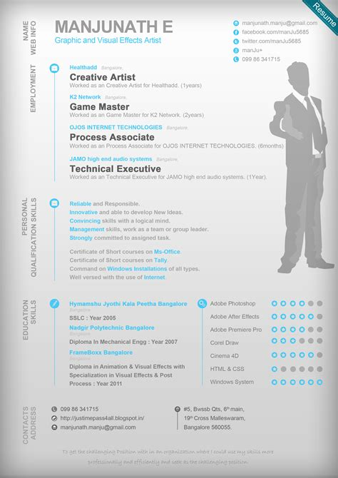 graphic artist resume templates 7 best images of graphic resume templates graphic design