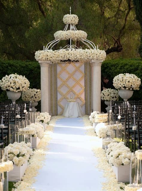 Ceremony Decor Archives   Weddings Romantique