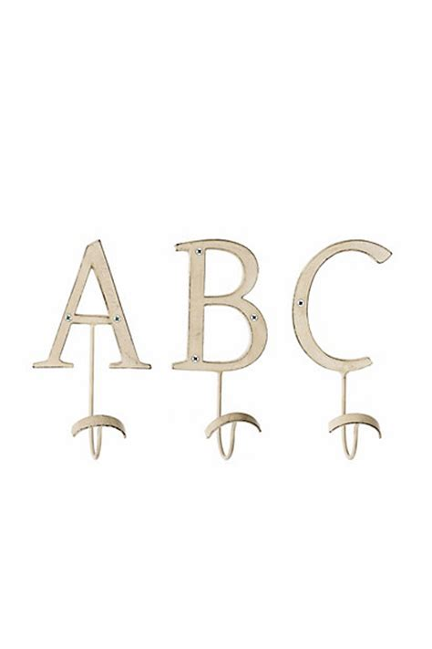 letter hooks for bathroom letter hooks anthropologie com