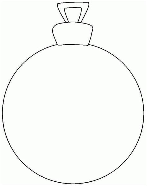 Coloring Sheets Christmas Ornament Printable Free For Ornaments To Color