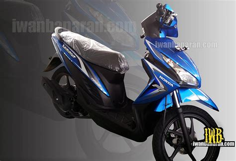 Lu Led Beat Injeksi honda vario 110 fi dengan headlight led dan answer back