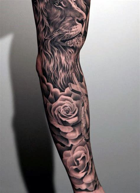 Tattoo Flower Man | 50 flower tattoos for men a bloom of manly design ideas