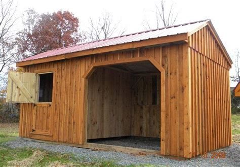 Hilltop Storage Sheds by Run Ins And Sheds Portable Barn Manufacturer