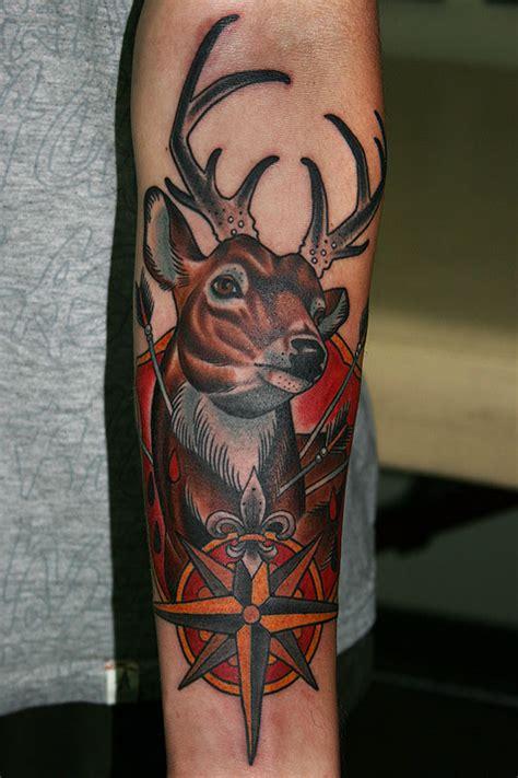 tattoo arm deer 35 stunning stag and deer tattoo designs