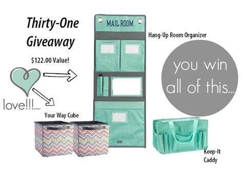 Thirty One Giveaway - thirty one giveaway winner simply organized