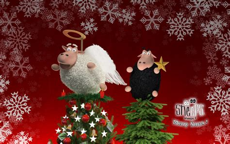 wallpaper christmas day ke sheeps xmas 2009 by bsign on deviantart