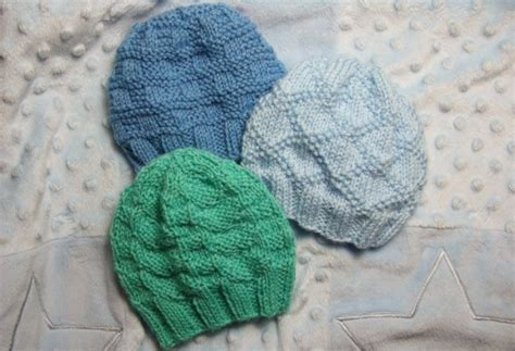 simple baby hat knitting pattern circular needles textured baby hats baby clothing knitted my patterns