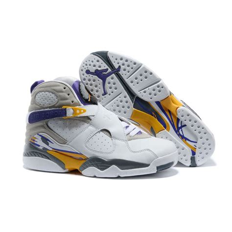 Lakers Retro White air 8 retro bryant lakers home pe for sale price 65 00 new air
