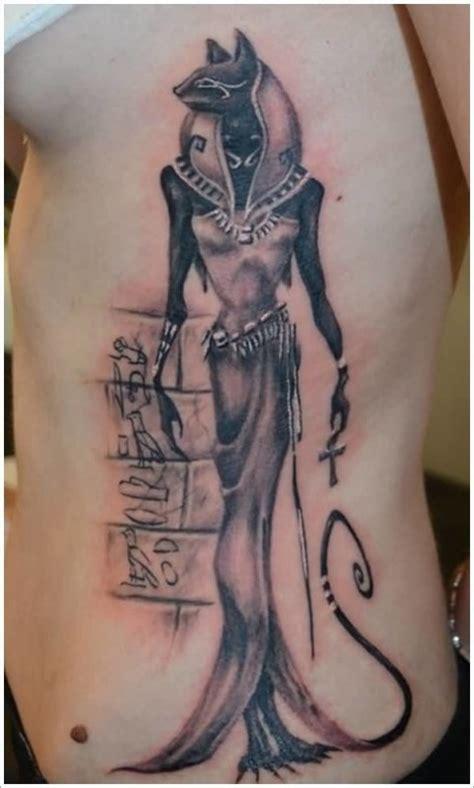 cat tattoo ribs 32 egyptian cat tattoos ideas