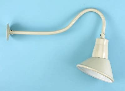 Commercial Sign Lighting Fixtures Economy Grade Gooseneck Sign Light With Angle Reflector