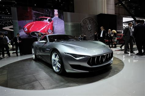 maserati light maserati lights up our fantasies with alfieri coupe