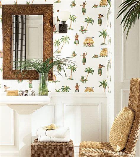 tropical themed bathroom love a tropical themed bathroom check out thibaut s hula