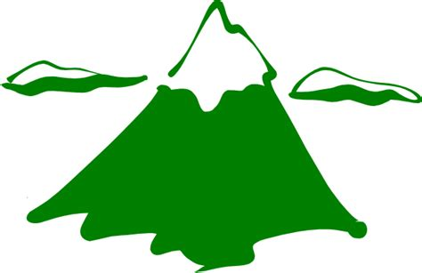 mountain clipart green mountain clip at clker vector clip