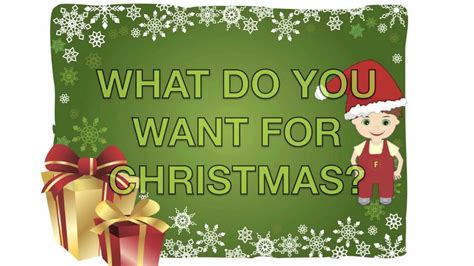 fredy quot what do you want for christmas quot youtube