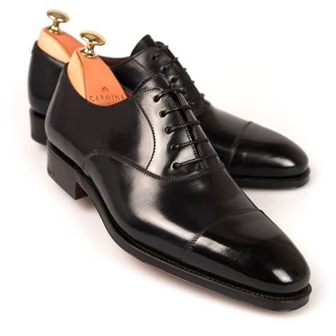 oxford shoe black cordovan oxford shoes carmina