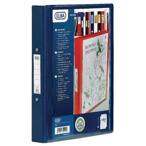 Bantex Data Ring Binder 4 Ring 9 12 X 11 Kapasitas 35mm Ref1593 bantex vision 2 ring binder a4 25mm blue 100080886 huntoffice co uk