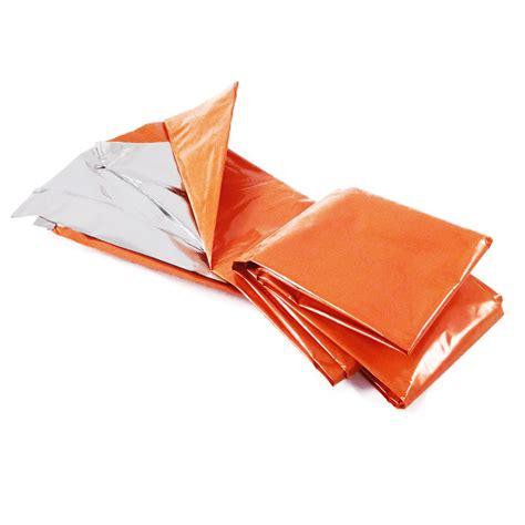 What Is A Mylar Blanket by Heavy Duty Orange Mylar Emergency Aid Survival