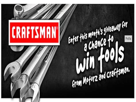 Tool Sweepstakes - win a craftsman 83 piece mach series ratcheting tool set blissxo com