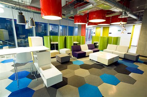 fun interior design cool and sustainable offices grupo cp corporate interior