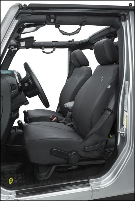 jeep wrangler unlimited seat covers 2013 just jeeps buy bestop custom tailored front seat covers in